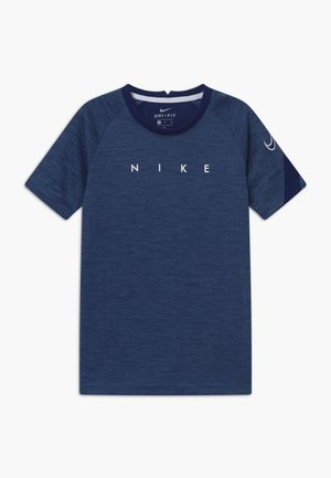 DRY ACADEMY - Print T-shirt - blue void/white
