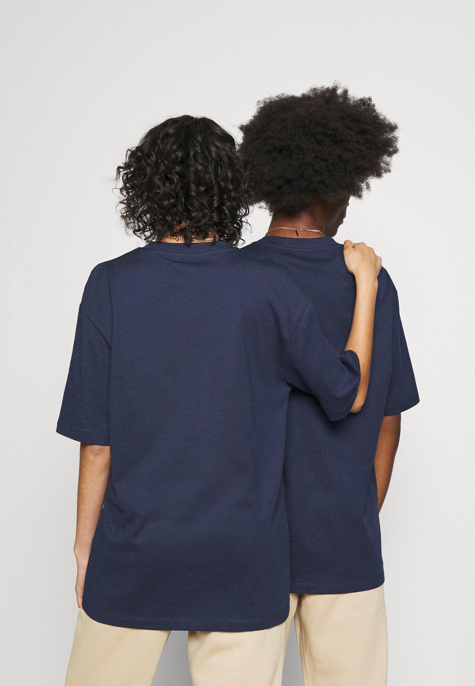 Men JORTOBIAS TEE CREW NECK CHEST UNISEX - Basic T-shirt