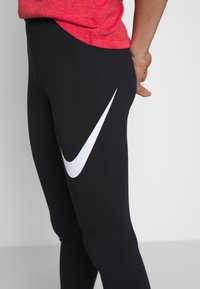 Nike Sportswear - Leggings - black/white - 3