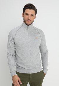 Farah - JIM ZIP - Sweatshirts - light grey - 0