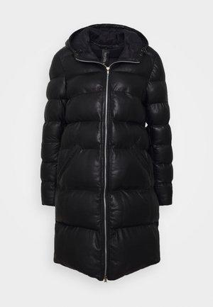 HEAVENTLY - Leather jacket - black