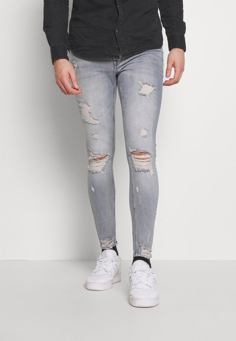 Gym King - Jeans Skinny Fit - light blue denim