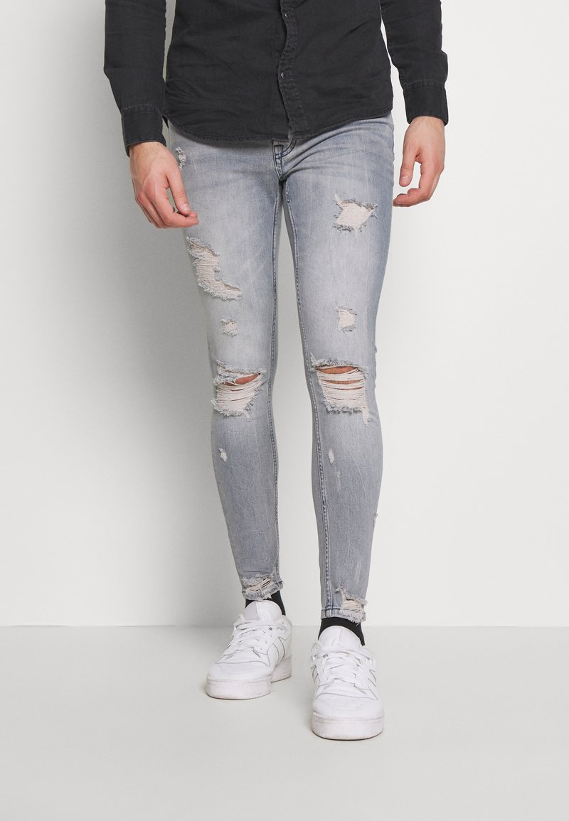 Gym King - Jeans Skinny - light blue denim