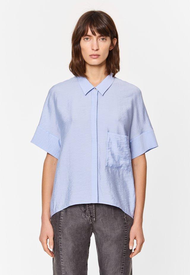 Overhemdblouse - sky blue