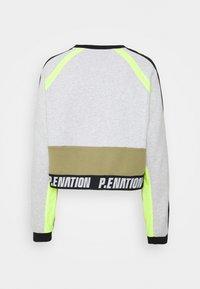 P.E Nation - OPPONENT - Sweatshirt - mottled light grey - 1