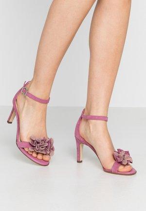 ODINA - Sandals - cassis mauve