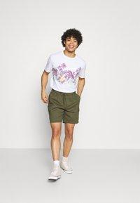 Quiksilver - MYSTIC SUNSET - Print T-shirt - white - 1