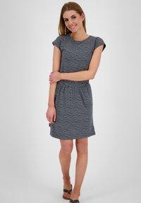 alife & kickin - SHANNAAK - Jersey dress - marine - 1