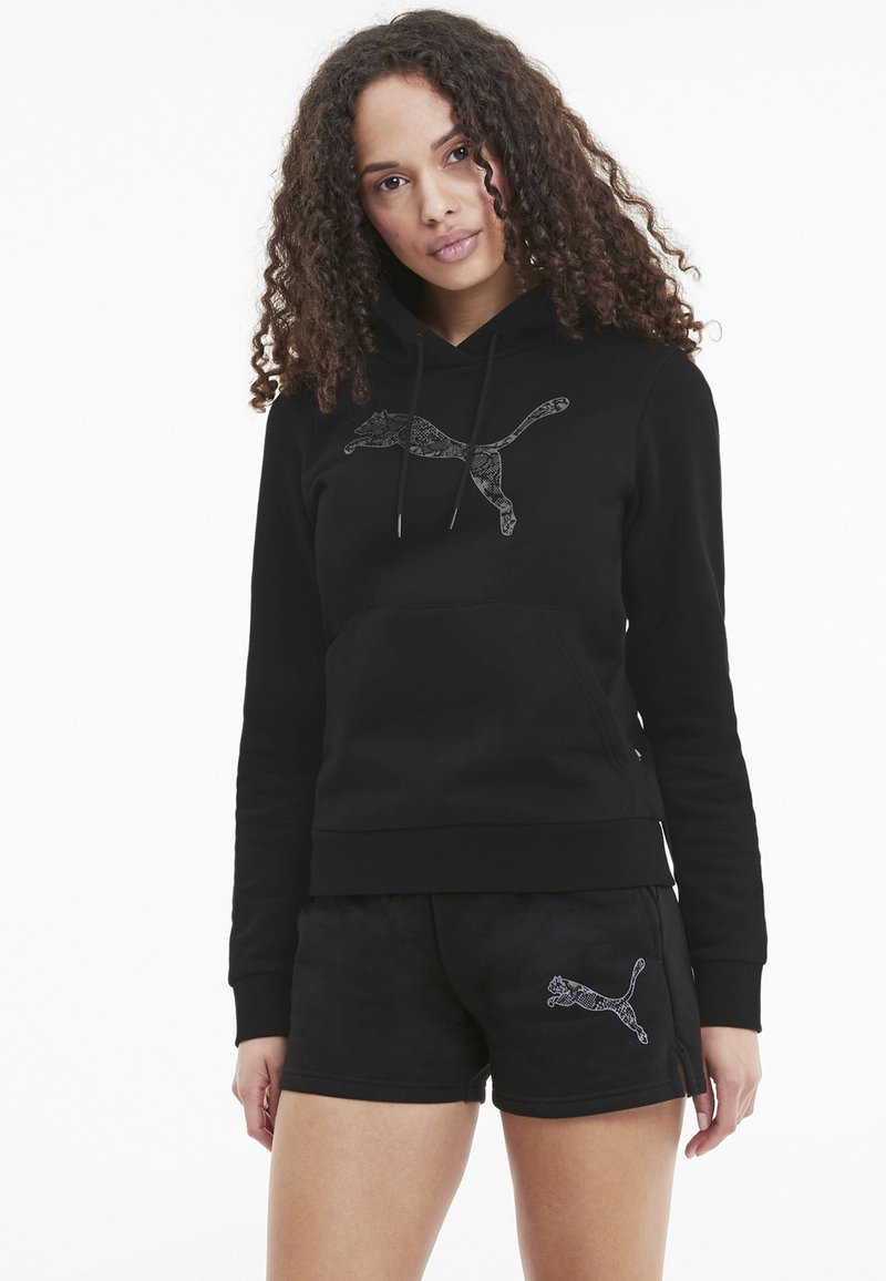Puma - Hoodie - puma black-cat