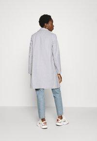Vila - VILISIA COAT - Classic coat - light grey melange - 2
