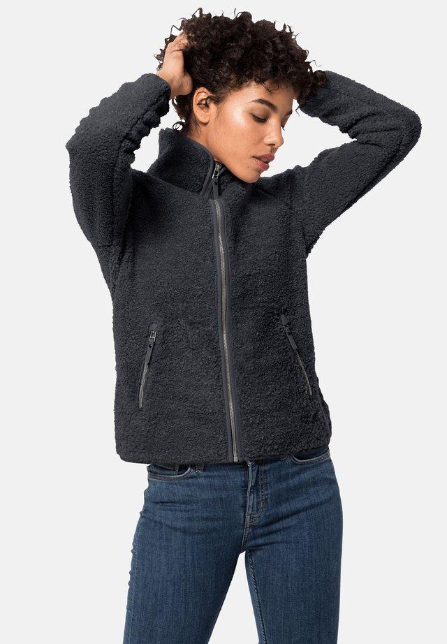 HIGH CLOUD - Fleece jacket - phantom