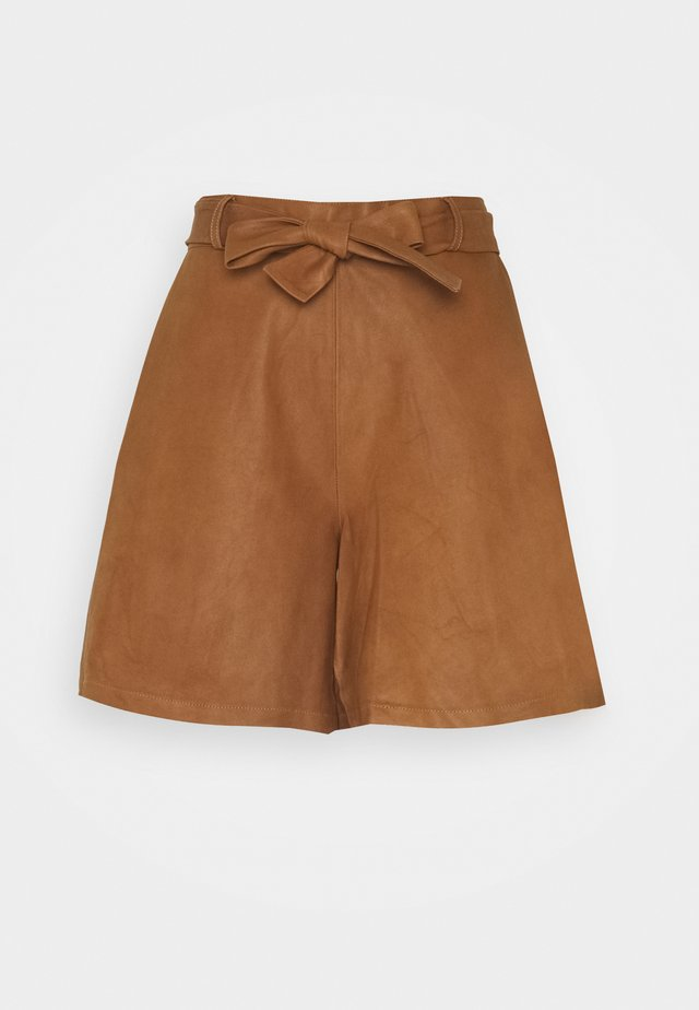 BELT - Shorts - camel