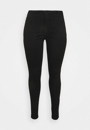 NMCALLIE SKINNY JEANS  - Skinny-Farkut - black denim