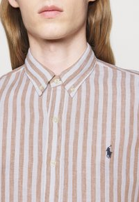 Polo Ralph Lauren - Skjorta - khaki/white - 4