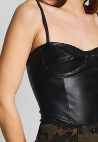 Nly by Nelly - BUSTIER BODY - Topper - black - 5
