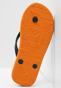 Quiksilver - MOLOKAI SLAB  - Pool shoes - blue/blue/orange - 2
