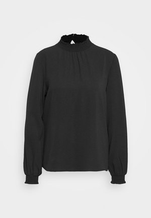 ONLNOVA LUX  SOLID - Blusa - black