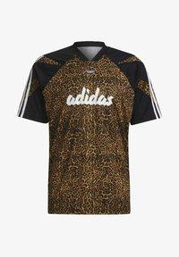 adidas Originals - FOOTBALL  - T-shirt con stampa - beige - 5