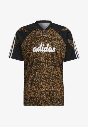 FOOTBALL  - Print T-shirt - beige