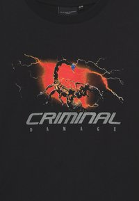 Criminal Damage - SCORPIAN STORM - Sudadera - black - 2