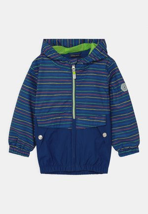 JOYLILY UNISEX - Waterproof jacket - blue/green