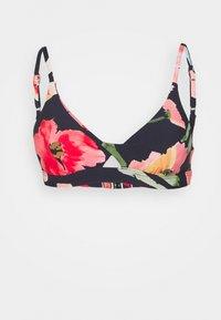 Seafolly - SUMMER MEMOIRS TWIST FRONT BRALETTE - Bikini top - indigo - 4