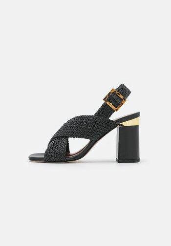 CAMEEIA - Sandals - black