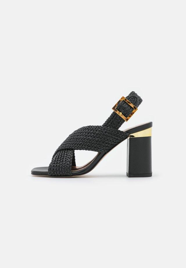 CAMEEIA - Sandały - black