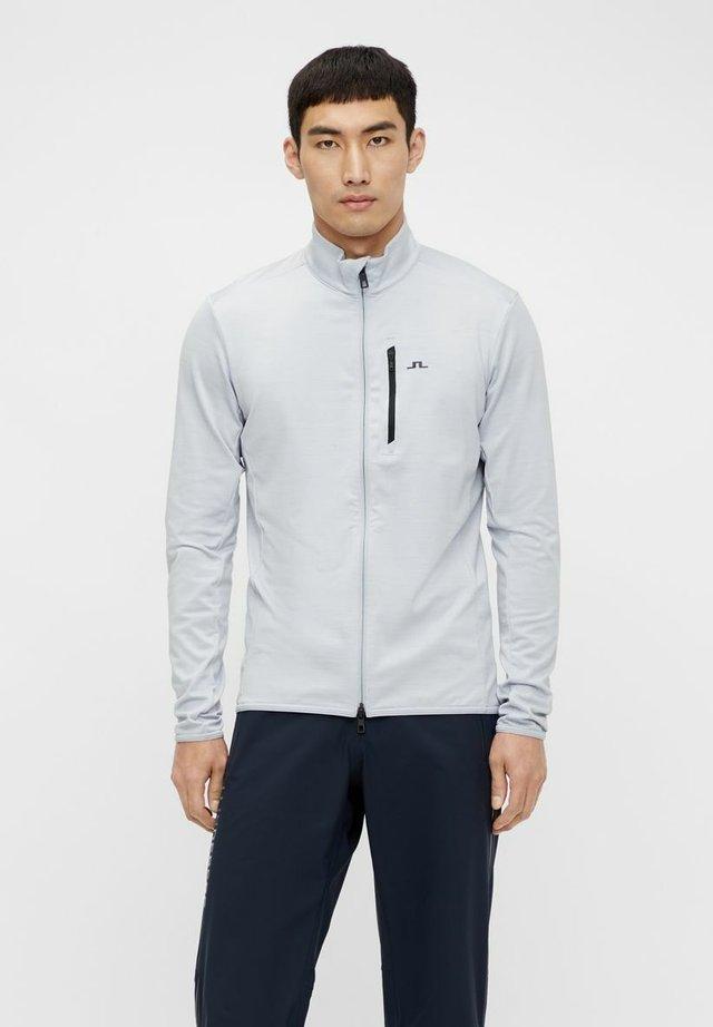 LUKE MIDLAYER - Training jacket - stone grey melange