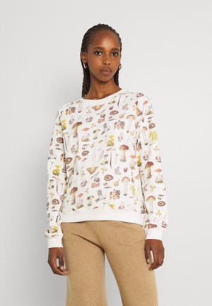 RAGLAN MUSHROOMS - Sweatshirt - whisper white