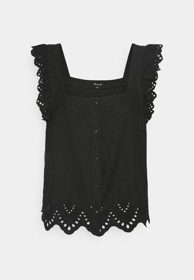AVIA TANK - Bluse - true black