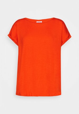 T-shirts basic - red clay