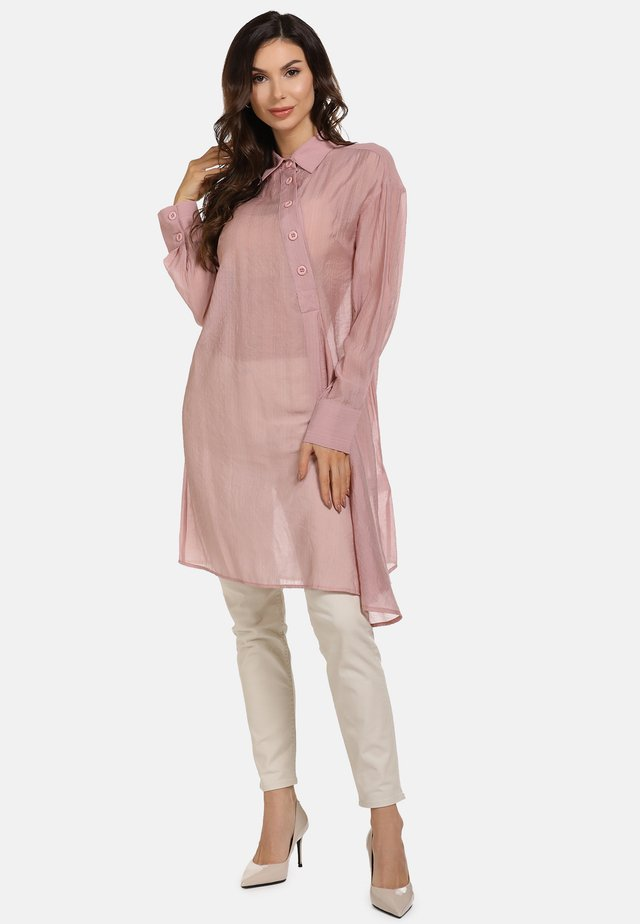 Blouse - dark pink