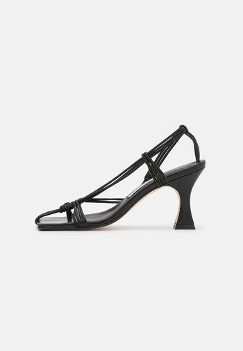 AMY - T-bar sandals - black