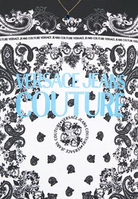 Versace Jeans Couture - PLIGHT COMPACT - Triko spotiskem - nero - 5