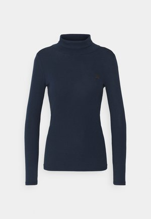 XINVA SLIM TURTLE T WMN L\S - Long sleeved top - sartho blue