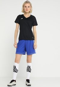 adidas Performance - SQUADRA CLIMALITE FOOTBALL 1/4 SHORTS - Sports shorts - boblue/white - 1