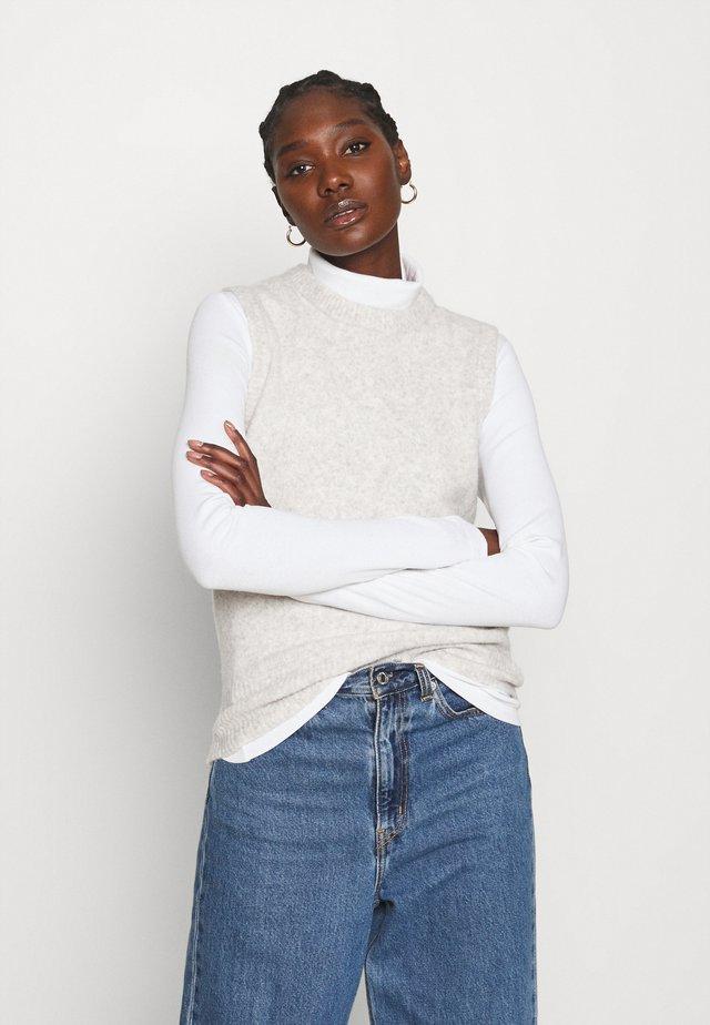 FREDRIKA - Sweter - light grey melange