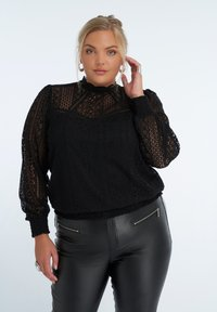 MS Mode - Blouse - black - 0