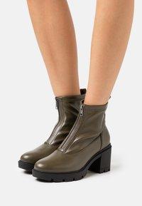Anna Field - Platform ankle boots - khaki - 0
