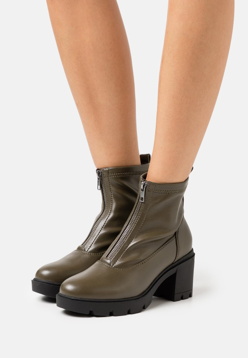 Anna Field - Platform ankle boots - khaki