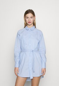 ONLY - ONLNESSA LOOSE SHIRT DRESS - Shirt dress - granada sky/granada sky bright - 0