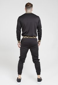 SIKSILK - CHAIN - Long sleeved top - black/gold