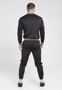 SIKSILK - CHAIN - Maglietta a manica lunga - black/gold - 2