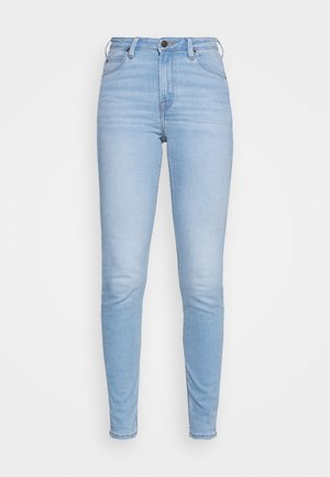 SCARLETT HIGH - Jeans Skinny Fit - bleached azur