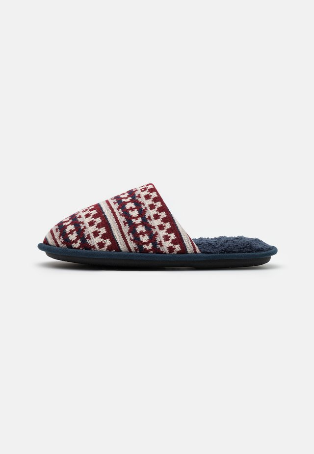 BORG MULE - Slippers - red