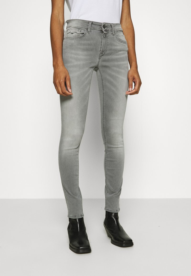 Replay - NEW LUZ HYPERFLEX BIO - Jeans Skinny Fit - medium grey