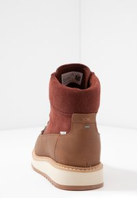 TOMS - MESA - Lace-up ankle boots - brown - 5