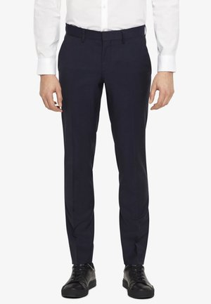 PAULIE TUX - Pantaloni eleganti - navy