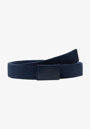 TONAL WEB BELT UNISEX - Belt - navy blue